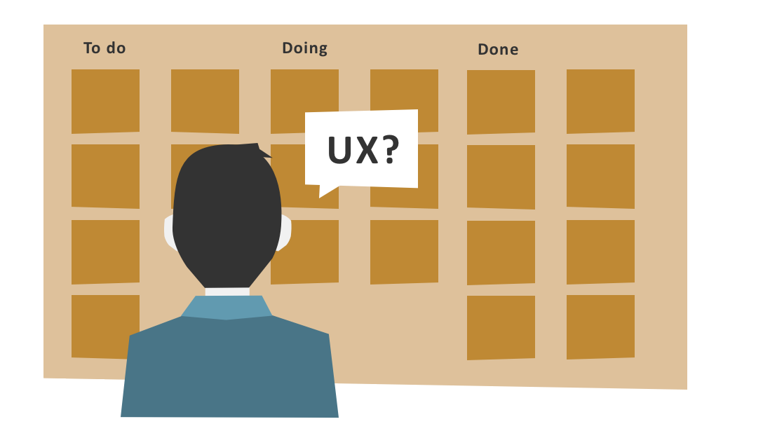 UX in user stories - geel breed