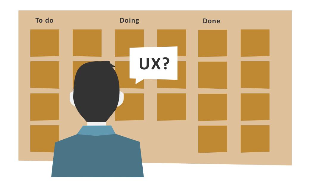 UX in user stories - geel breed